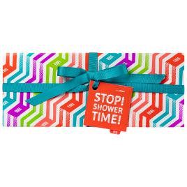 Stop! Shower time! Geschenk