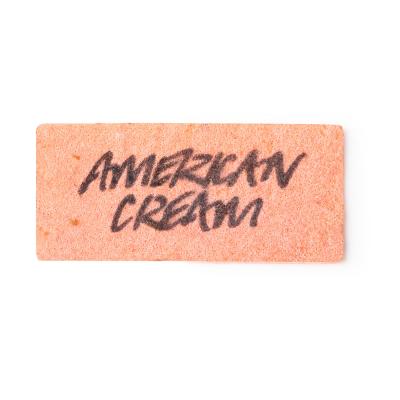 American Cream Waschkarte