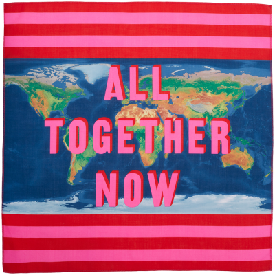 All Together Now 70x70 cm Knot Wrap