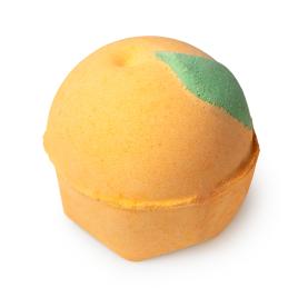 Orange Pop Badebombe
