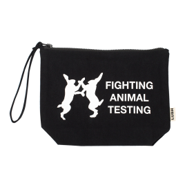 Fighting Animal Testing Kosmetiktasche