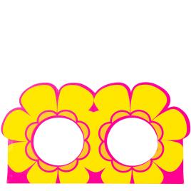 Flower Power Lamb Badebomben-Halter