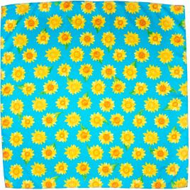 Sunflowers 70x70cm Knot Wrap