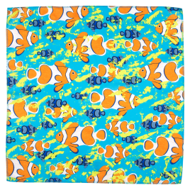 Clown Fish 50x50cm Knot Wrap