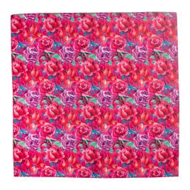 Rosy 50cmx50cm Knot Wrap