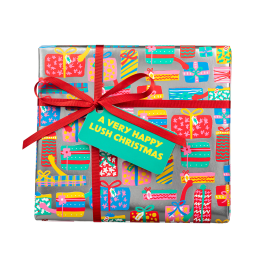 A Very Happy Lush Christmas Geschenk
