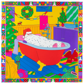 The Art of Christmas Bathing Geschenk