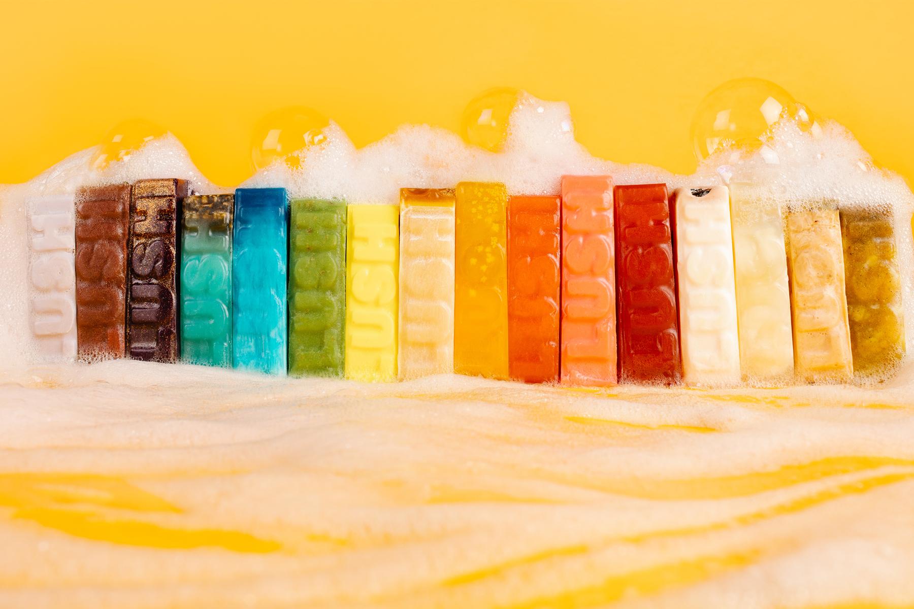 Die Geschichte der LUSH-Seifen